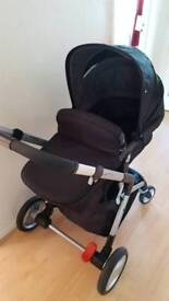 Travel System with carseat + footmuff