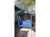 Timber Arbour Bench for sale