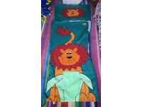 Todder sleeping bag, lion design