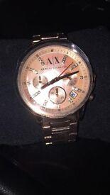 Brand new Armani exchange rose gold women's watch