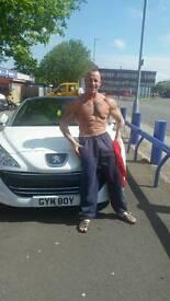 gym boy number plate
