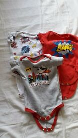 3 next body suits 0-3 months
