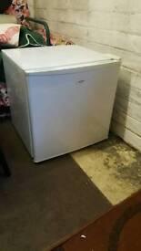 Fridge with tiny freezer compartment