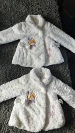 ONE Disney Rapunzel Child's fluffy coat