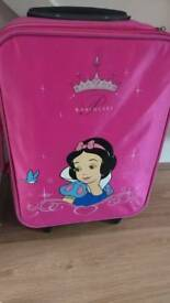 Snow white suitcase