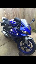2015 Yamaha R125 for sale, very cheap for year and miles!!