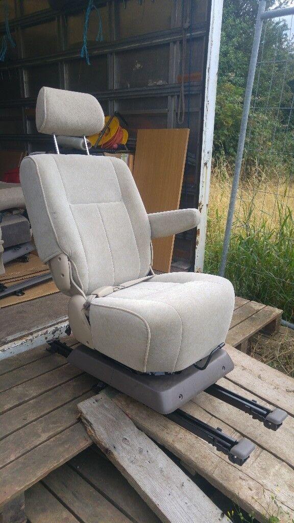 Motorhome swivel captain seat  180 base table belt  Camper van vw t4 t5  transit sprinter conversion | in Methley, West Yorkshire | Gumtree