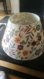 Lampshade NEW embroidered