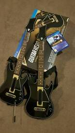 Guitar hero live supreme party edition 2 guitars ps4