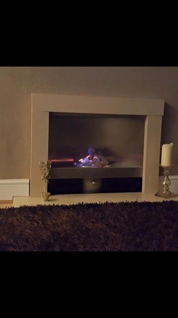 Gas fire granite all working with all bits