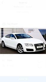 Audi A7 white 2013 low mileage!