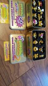Moshi Monsters Gold Collection tins