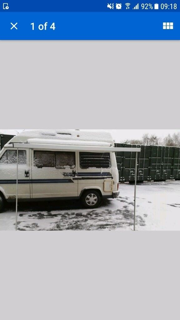 Fiamma F45 Caravan Campervan Wind Out Awning