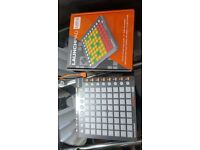 Novation launchpad mini. Perfect condition. As new. In the box.