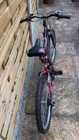 Boys 17inch bike