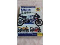 Haynes suzuki GSX-R 600 manual