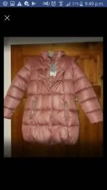 Next coat new with tags. Age 9