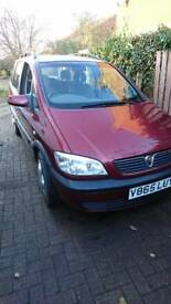 Vauxhall Zafira 2.0dti 7 seats diesel low mileage 63k