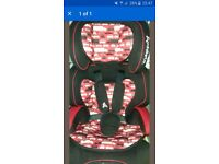 car seat cuddleco junior trio group 1-2-3