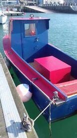 22 foot fishing boat