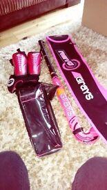 Grays Pink Hockey 🏑 stick and bag