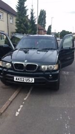 Bmw x5 green diesel automatic perffect condition bargain