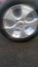 205-55r-16 wheel and tyre for kia venga