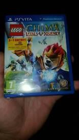LEGO CHIMA lavals journey ps vita brand new sealed