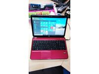 HP Pavilion G6 Laptop, 320gb HD, Windows 10 & MS Works, Wifi, Webcam, DVD R/W, Charger