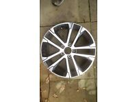 "Genuine VW Golf Mk7 R-Line 17"" Alloy Wheel 5G0 601 025 AK"