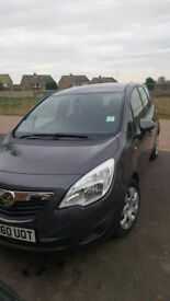ONE OWNER FROM NEW VAUXHALL MERIVA 1.4 TURBO