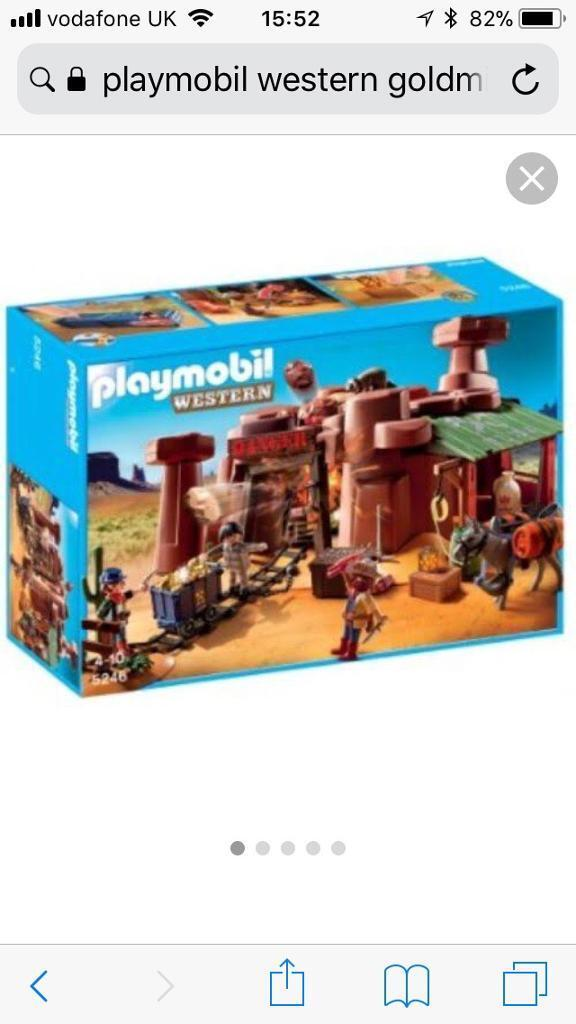 PlayMobil Western Goldmine 5248 - New and sealed