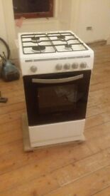 Freestanding gas cooker (oven, hobs and grill) £40