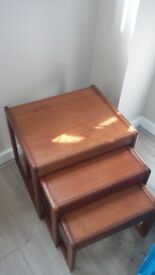 Solid wood x3 table