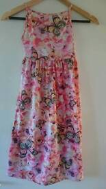 TU age 7 maxi dress