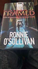 FRAMED BY RONNIE O'SULLIVAN