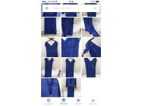 Mother of bride royal blue Zeila dress and jacket