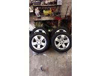 Alloy wheels 5x112 16 inch