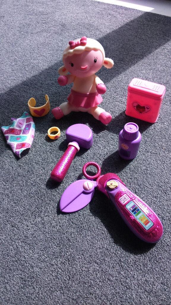 Doc McStuffins 3 toy sets