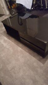 Black gloss coffee table