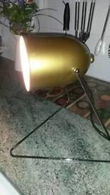 Lamp utility desk or bedside light