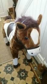 Life size chesnut pony ideal xmas gift £50!!!