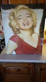 Marilyn monroe canvas