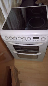 Hotpoint cooker electric freestanding