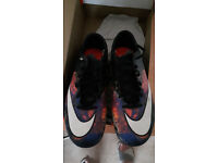 Nike CR7 Football Boots with non metal studs size 8