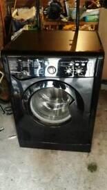 Indesit Black Washing Machine
