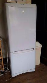 Tall White Fridge Freezer Indesit Excellent condition