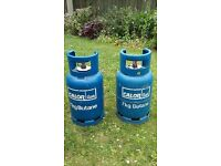 7kg Butane Gas Cylinders - not empty.