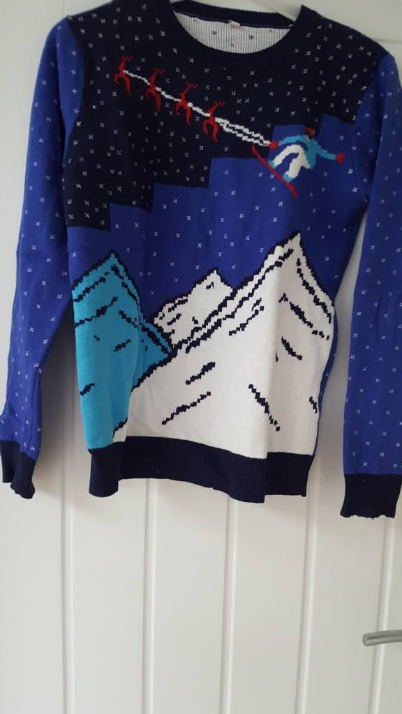 M&S Christmas jumper age 11 /12