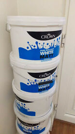 10L Crown Brilliant White Matt Emulsion